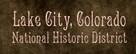 Lake City National HIstoric District